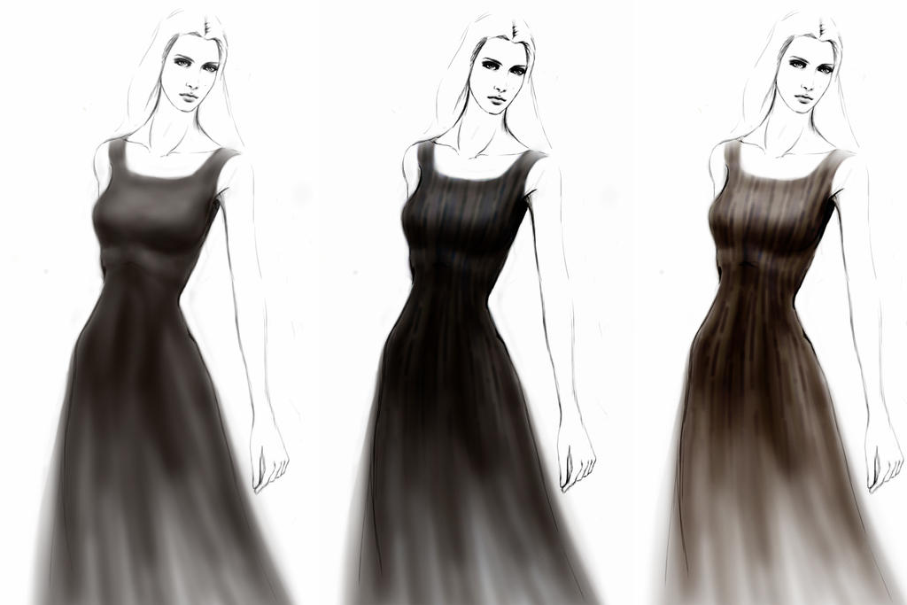 Fashion Illustration LBD by razhbi
