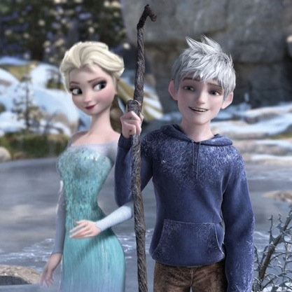 Queen Elsa And Jack Frost By Xxqueenelsaxxx On Deviantart