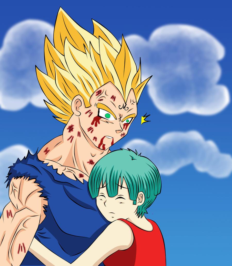 Vegeta and bulma fanart dbs | Anime dragon ball super