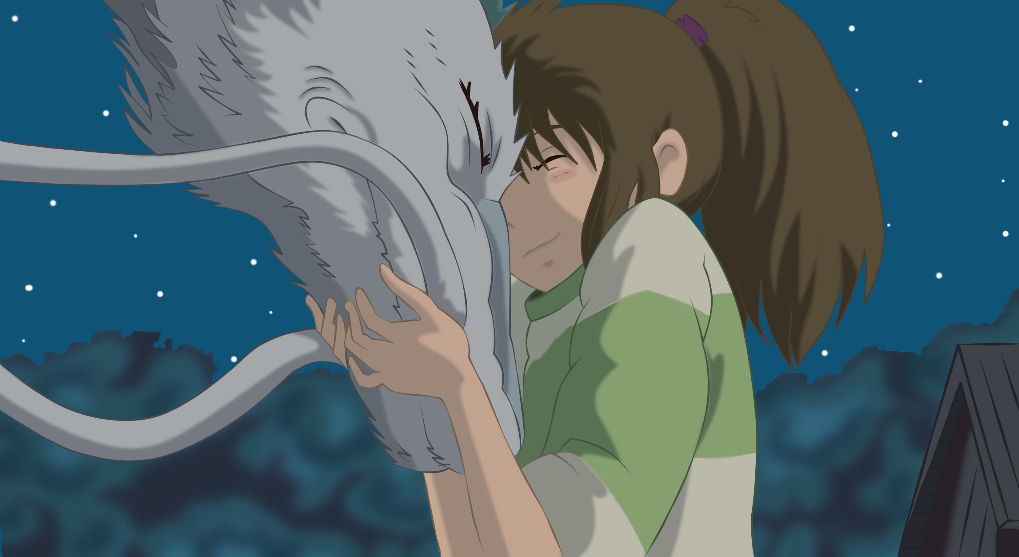 Chihiro and Haku || Spirited Away~ by kenjakiddy on DeviantArt