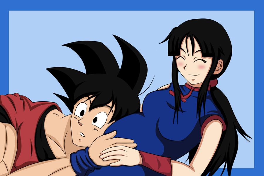 goku and chichi by beastwithaddittude on deviantart. Black Bedroom Furniture Sets. Home Design Ideas