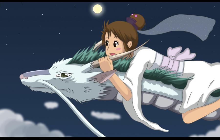 did chihiro and haku ever meet again