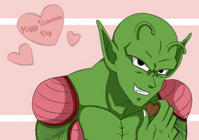 Piccolo Valentines Day by Beastwithaddittude