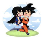 Goku and ChiChi chibi