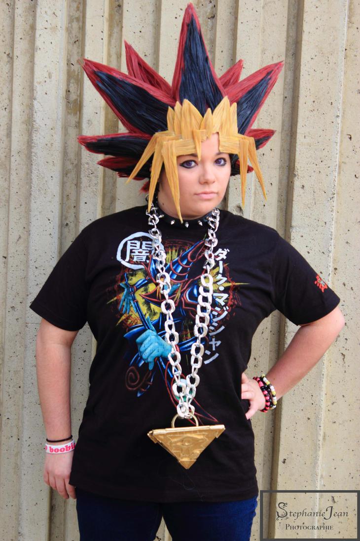 Yugi casual cosplay by Beastwithaddittude