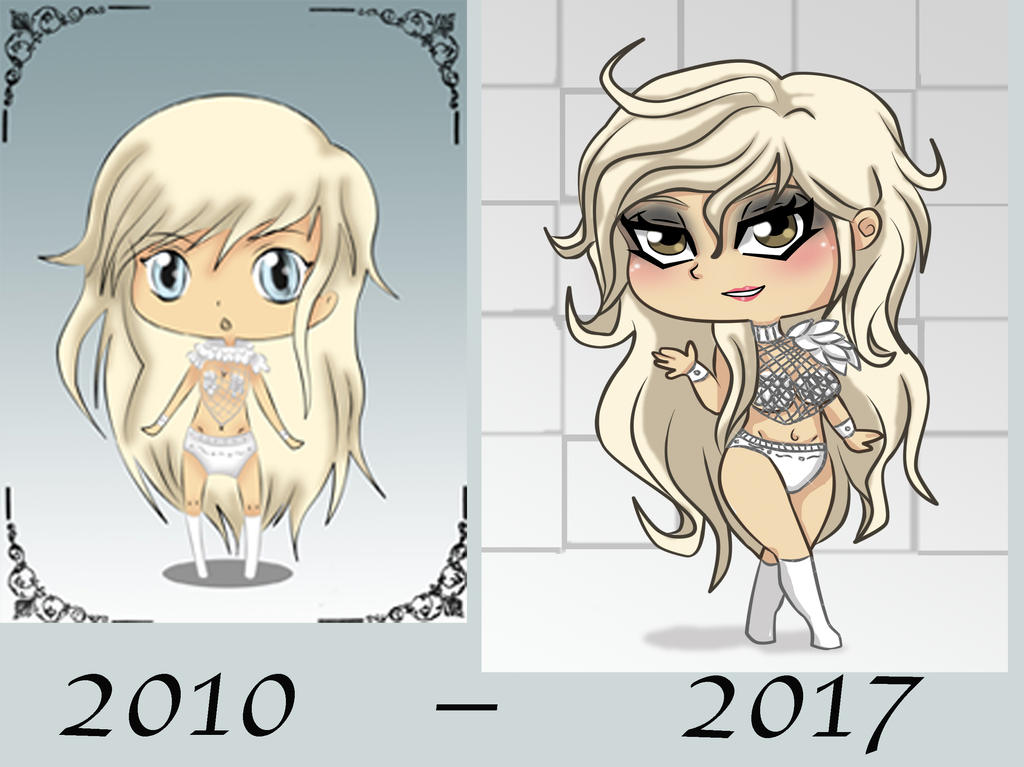 Lady Gaga improvment by Beastwithaddittude