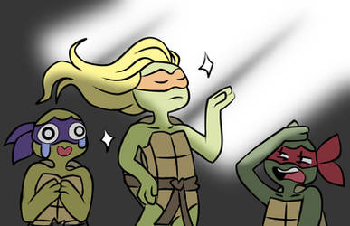 Draw your squad TMNT