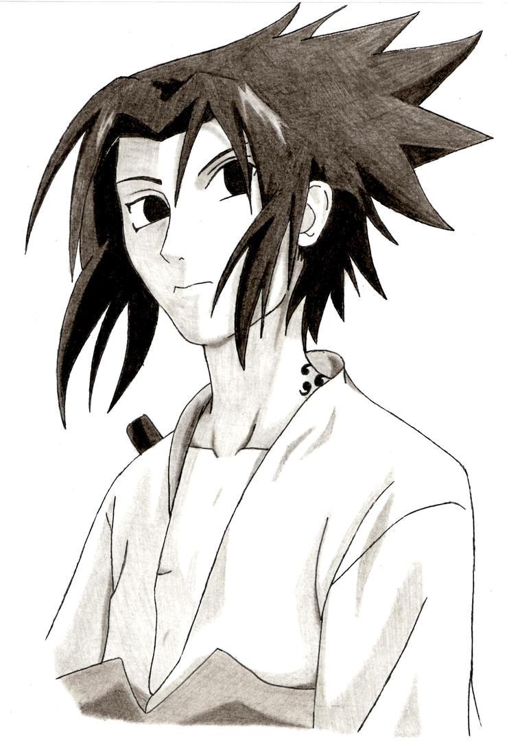 Sasuke by Claybirdies