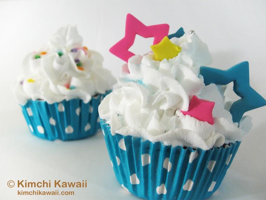 Brightstar Cupcakes by FrostedFleurdeLis