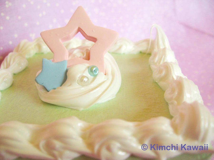 Mint Star Cake Box by FrostedFleurdeLis