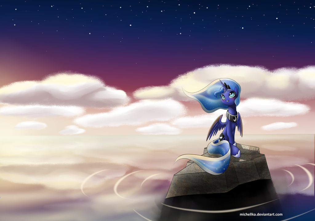 princess Luna by michellka