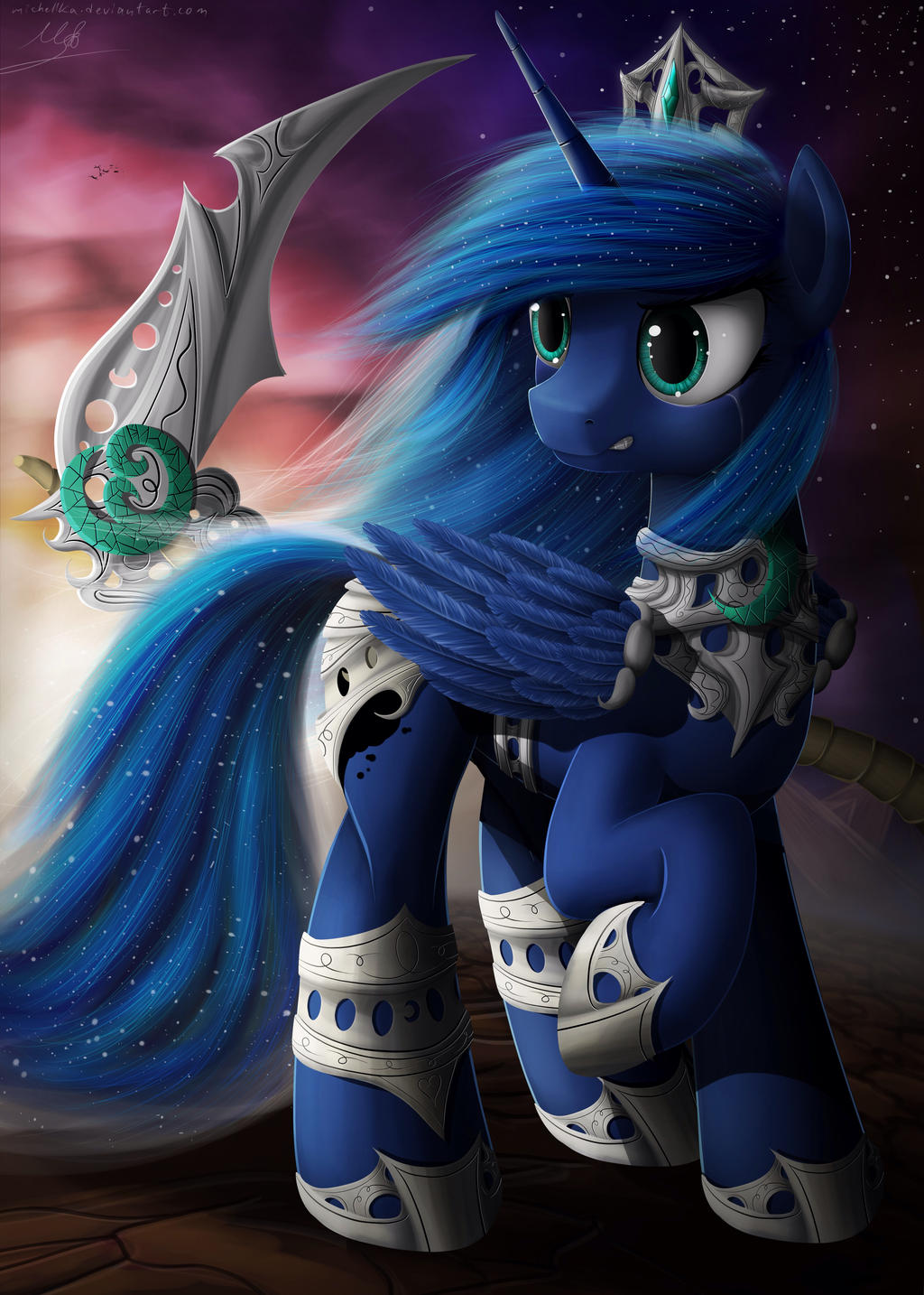 Princess Luna by michellka