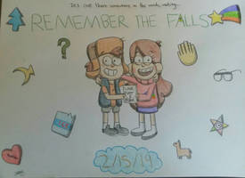 Remember the Falls: 3 Year Anniversary  by PrinRue