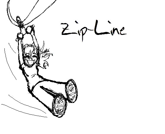 D Line Drawings Zip : Zip line by on deviantart