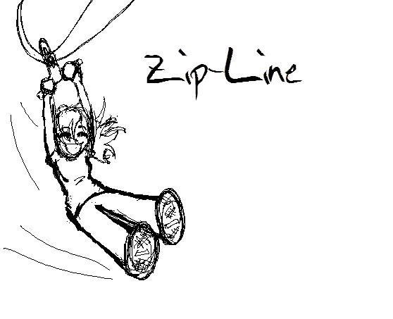 Zipper Line Art : Zip line by on deviantart