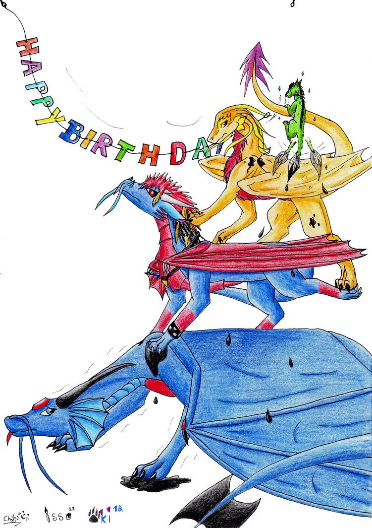 happy birthday chaos by ChibiMieze