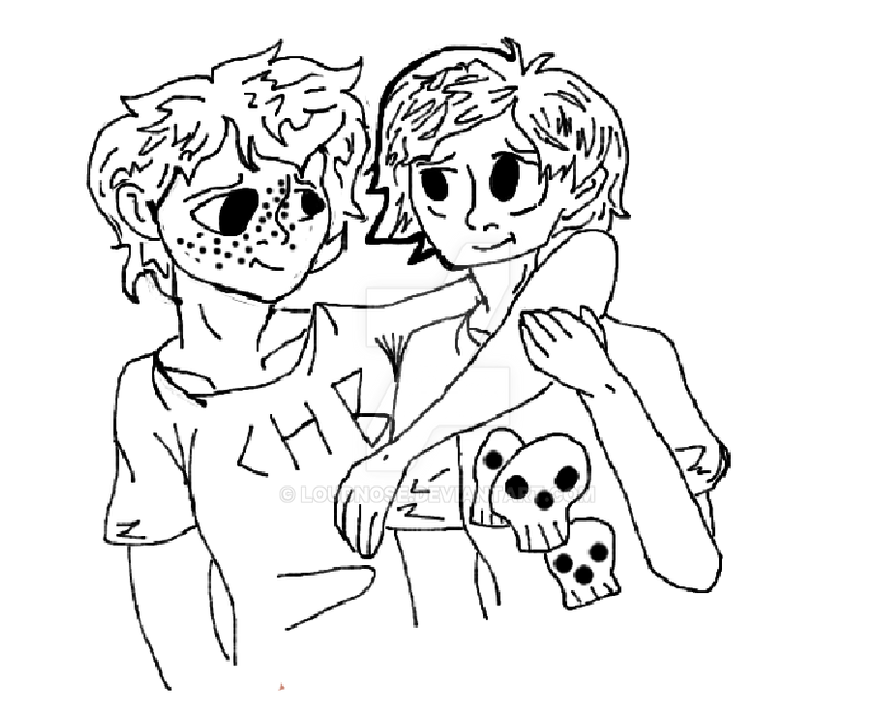 Line Art Digital : Solangelo line art digital by loudnose on deviantart