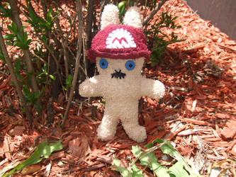 Mario Bunny Plushie by KaoruMorite