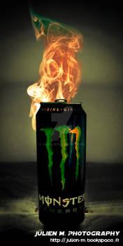Driink Monster as Fire