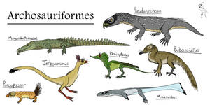 Archosauriformes: Mammalsaurs, Crocs, and Dragons