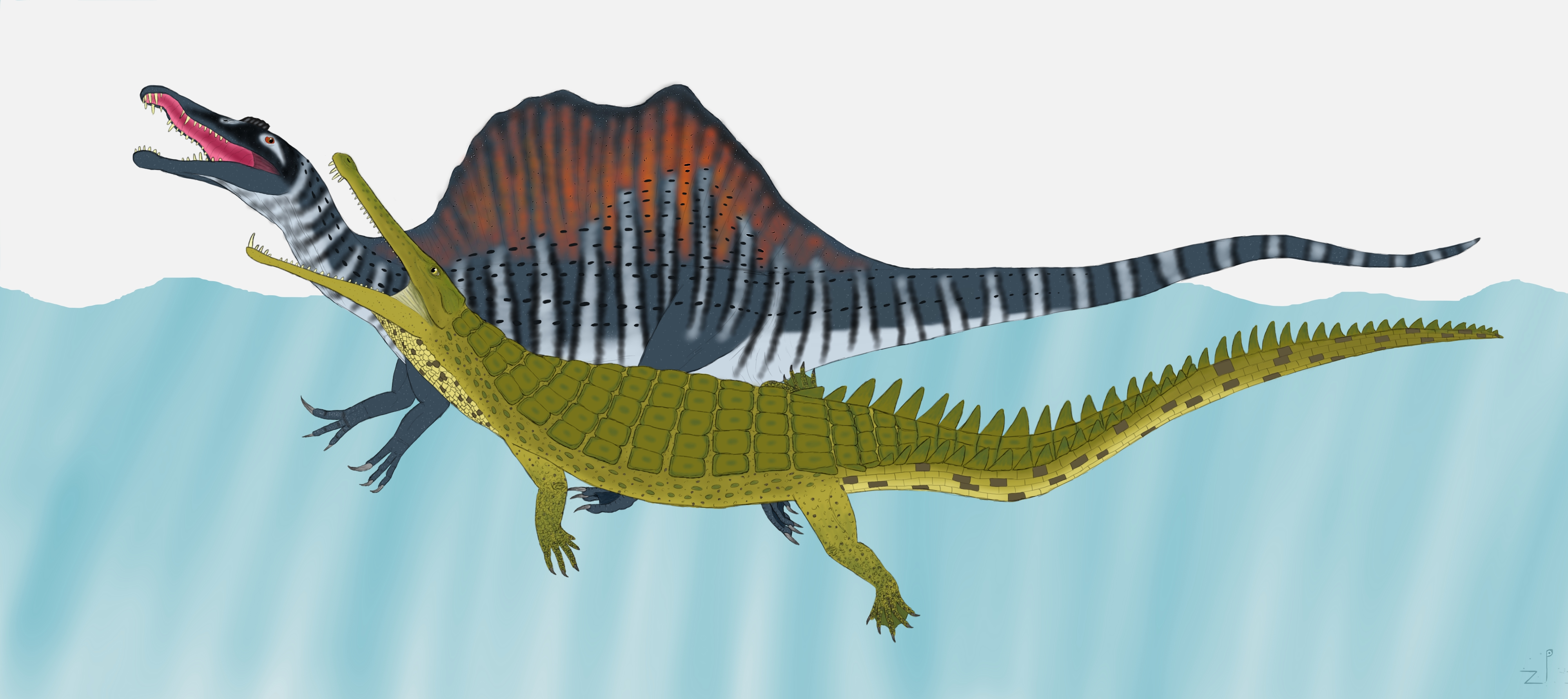 Undescribed Giant Croc by ZoPteryx on DeviantArt