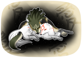 Ammy And Link by SpookyPandaGirl
