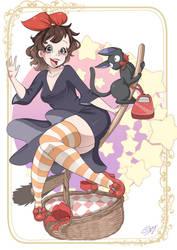 Older Kiki by SpookyPandaGirl