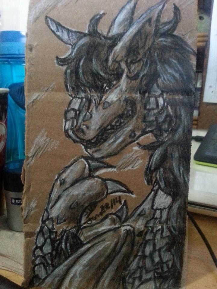 Dragon Tesla ver.1 by BlueOnigiriKitty