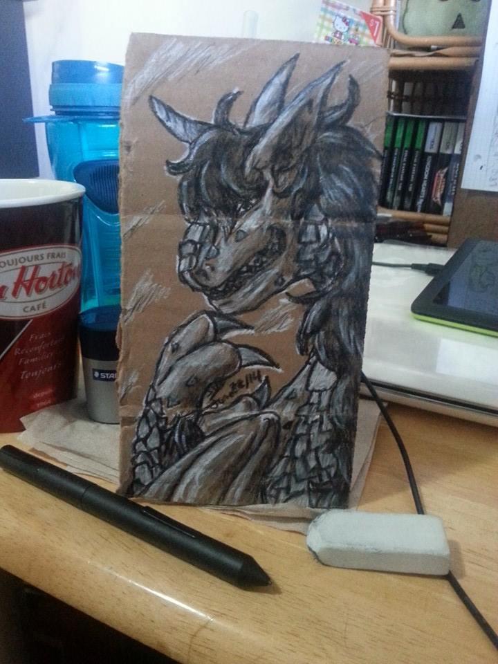 Dragon Tesla ver.2 by BlueOnigiriKitty