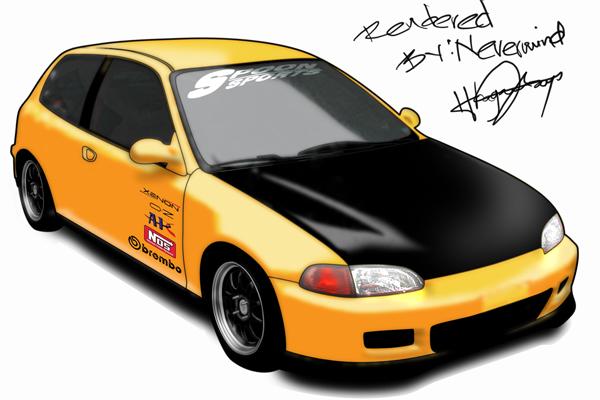 Honda Civic Hatchback by Honda-Community on DeviantArt