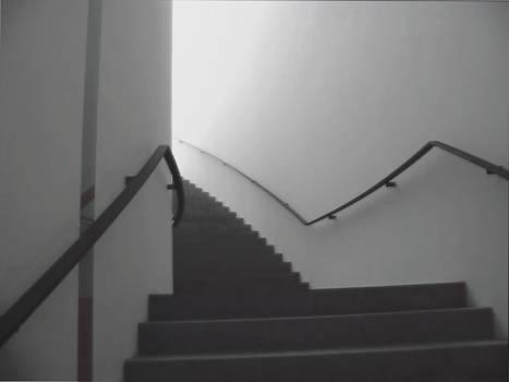 Treppe ins Licht