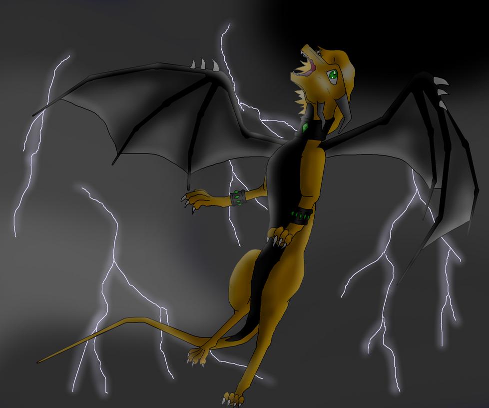 Here Comes The Thunder by DarkTornado