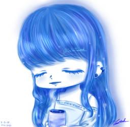 Blue Girl 18 by susutamanh
