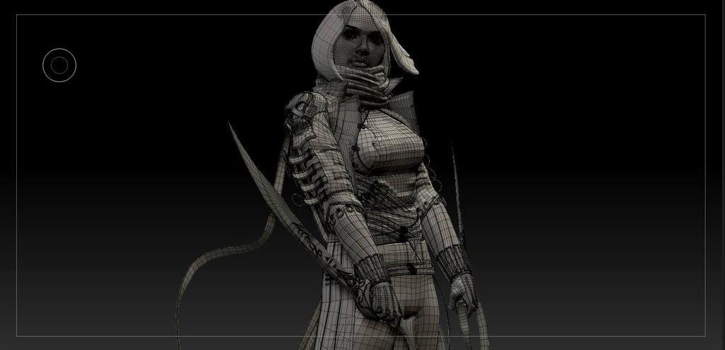 Fantasy Black Widow by Nostalgia32