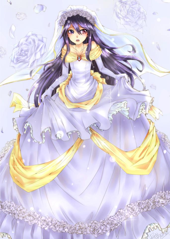 Felutia Wedding Dress By Rintaraz On DeviantArt - Anime Wedding Dress