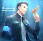 [Fanart] ConnorArmy_SaveTheFish!!