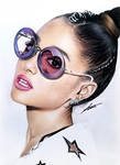 Ariana Grande Pencil Portrait