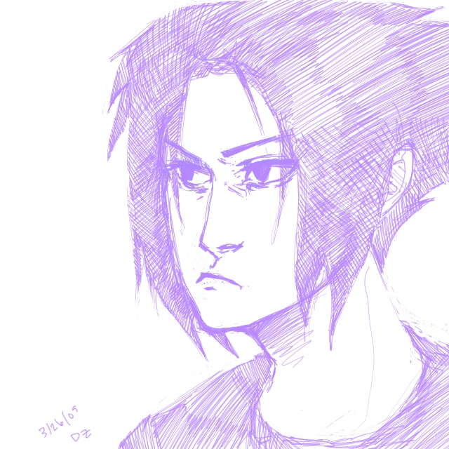 Sasuke 1 by darsucks