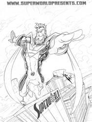 King Power  DA Ink contest by skulljammer