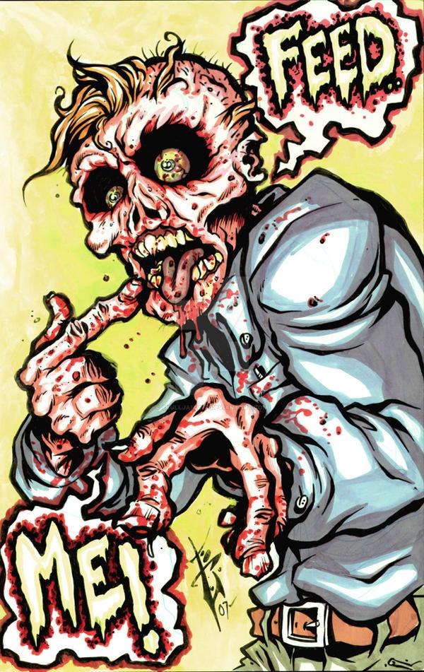 Feed me zombie by skulljammer