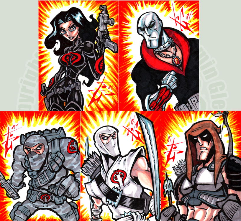 MoD Cobra elite cards by skulljammer