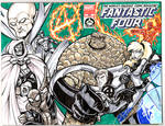 HERO Initiative Fantastic Four 100 project