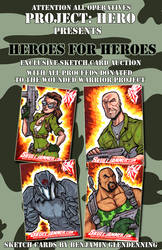 Project hero: G.I. JOE sketch cards by skulljammer