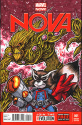 Nova sketch cover by skulljammer