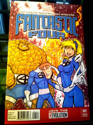 FF sketch cover fun by skulljammer