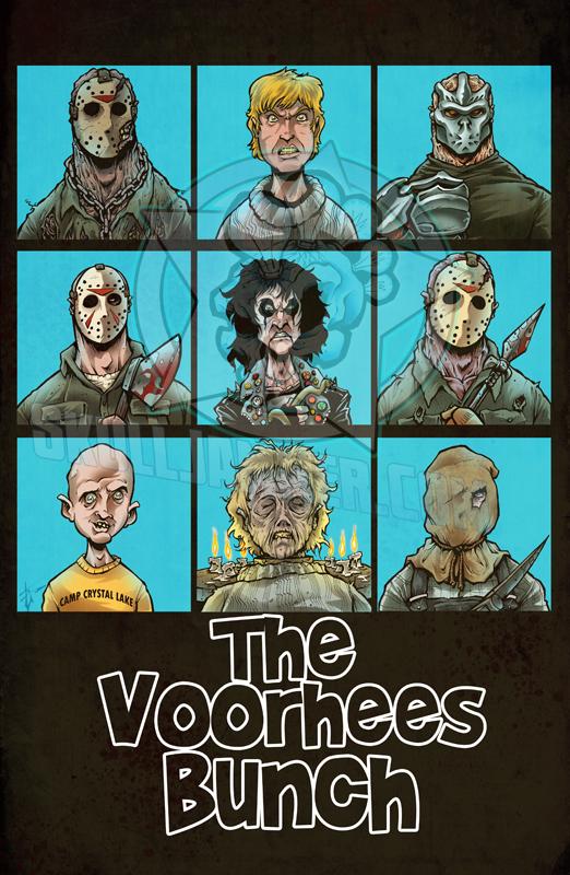 The Voorhees bunch by skulljammer