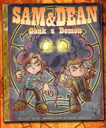 Sam and Dean little readers by skulljammer