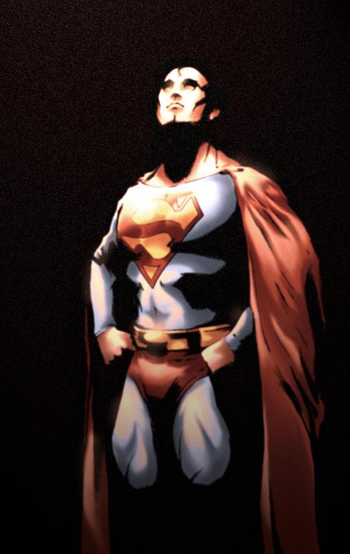 Superman Hard Light by skulljammer