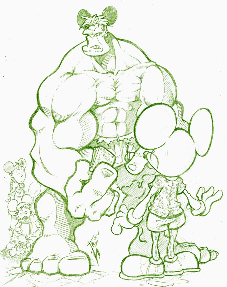 Hulk and Mouse