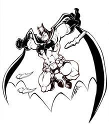 Dark Knight wip by skulljammer